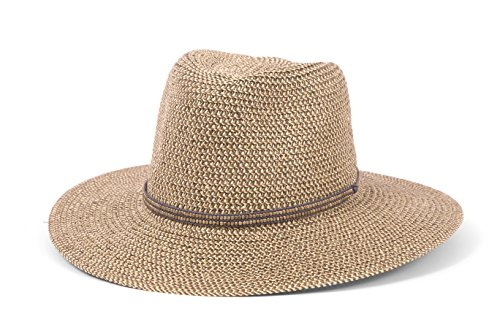ale by Alessandra Women's Kenzie Toyo Straw Sunhat Packable & Adjustable Fedora