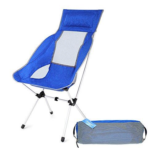 TOMSHOO Chaise pliable confortable légère idéal...