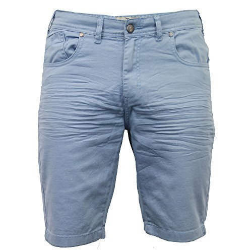 Pantaloncini Da Uomo Denim By Threadbare Blu - SMT237