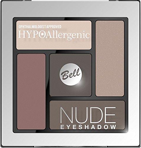 Palette Yeux Nude Hypoallergénique Romantique - BELL -