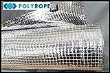 Dach-Dampfsperre, Wärme-Isolierungsmembranfolie aus metallisiertem Aluminium, 1,5x 50m