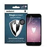 'Mediadevil Apple Iphone 6/6s Screen Protector: Magicscreen Eyecare Edition - (2 X Protectors) - Anti Uv Light, Anti Blue/hev Light