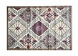 8 modelos 4 medidas de alfombras de bambú anti-deslizante para salón, baño, cocina y habitación / estera multiusos (60 x 120 cm, Estamp.6)