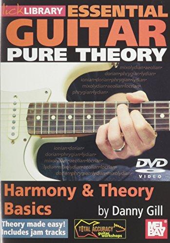 Preisvergleich Produktbild Essential Guitar Pure Theory Harmony & Theory Basics DVD