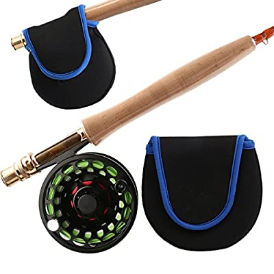 Fly Fishing Reel Bag, Carry Case, 130mm X 130mm, Salmon, Trout, Sea Fishing from firetrappp