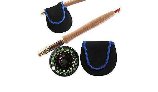 Lachs Tragetasche,130mm X 130mm Fliegenfischen Rolle Tasche Forelle