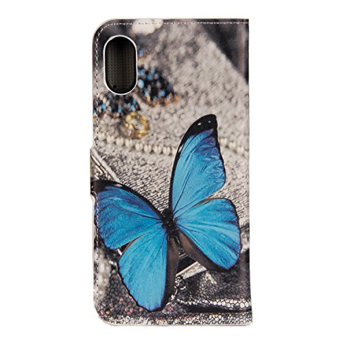 Coque pour iPhone 8, Frlife | Housse en Cuir PU pour iPhone 8 Coque avec Étui en Silicone, Protection Complète pour Votre Téléphone Portable couleur 5