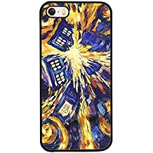 Iphone 5 / 5s Classic Style Hülle Case, Doctor Who Tardis Door Tv Series Hard Drop Protection Slim Hülle Case For Girl. IRTHloi