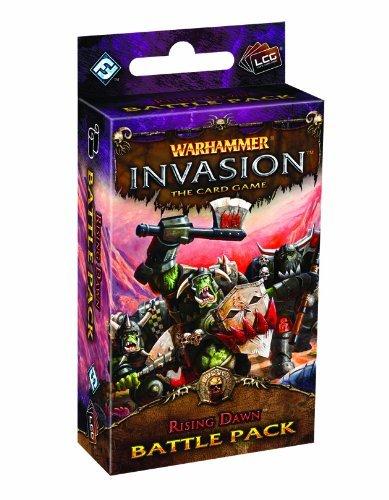 Warhammer Invasion: Rising Dawn Battle Pack (Living Card Game) by Ffg (Creator) (31-Mar-2012) Paperback par Ffg (Creator)
