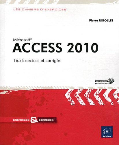Access 2010 par Pierre RIGOLLET