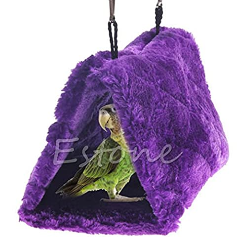 Top-Sell Plush Bird Parrot Hamac Hanging Cave Cage Snuggle Happy Hut Tente Lit Bunk Toy