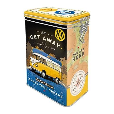 Nostalgic-Art 31102Volkswagen VW Bulli–Let's Get Away., Arôme Boîte