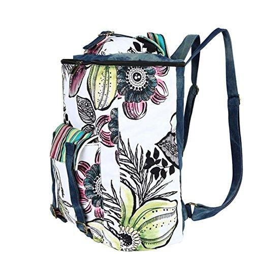 Imagen de bolso de la lona/ /bolsas de viento de la universidad/ impresión del vaquero a alternativa