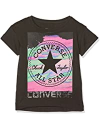 Converse In the Clouds Tee Black, Survêtement Fille