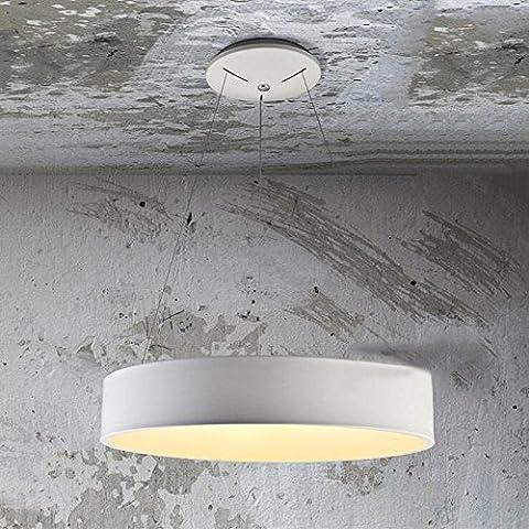 DIDIDD Lustre-tricolore obscurcissant chambre à coucher personnalité personnalité anneau led nordique minimaliste salon bureau restaurant lustre (45cm-24w / 60cm-36w) --lampes d'éclairage intérieur,4