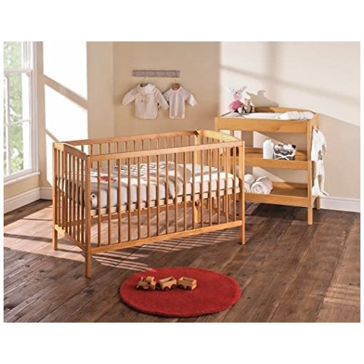 online store 0a6d4 d487e Baby Cot Bed with Deluxe Mattress - Babaloo