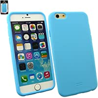 "Emartbuy® Apple Iphone 6 6G 6S 4.7 "" Zoll Silicon Hülle Schutzhülle Case Cover Light Blau"