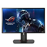"ASUS ROG Swift PG248Q - Monitor Gaming de 24"" (144 Hz nativos, WLED TN, resolución FHD 1920 x 1080, 16:9, Brillo 350 CD/m2, Contraste 1.000:1, Respuesta 1 ms GTG, G-Sync)"