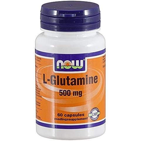 L-glutammina 500 mg (60 capsule) - Now