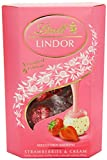 Lindt Lindor Strawberry and Cream Lindor 200 g
