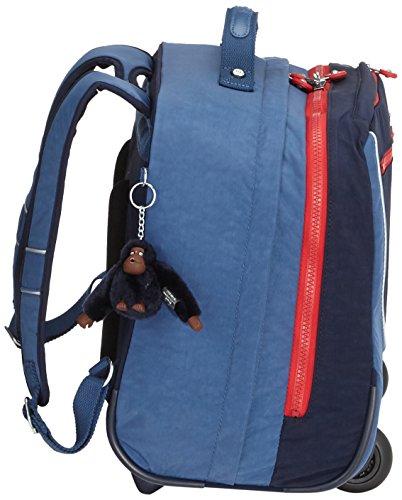 Kipling - CLAS DALLIN - Sac à dos à roulettes - Navy Blue Blk - (Bleu) Bleu