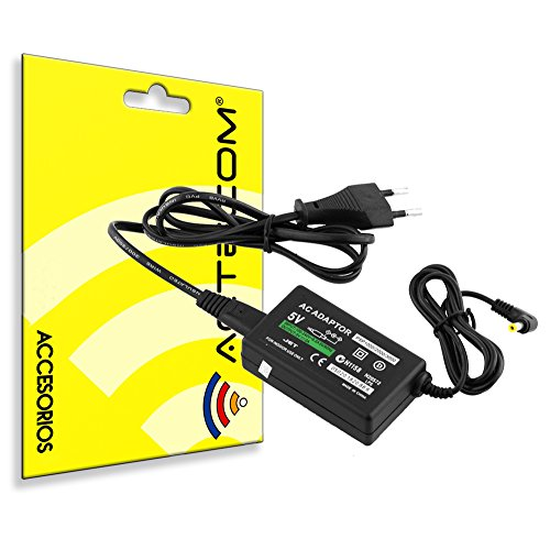 Actecom® Cargador Red AC Sony PSP 2000 Slim / 3000/1000