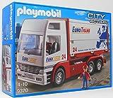 Playmobil 9370 Euro Trans Truck .