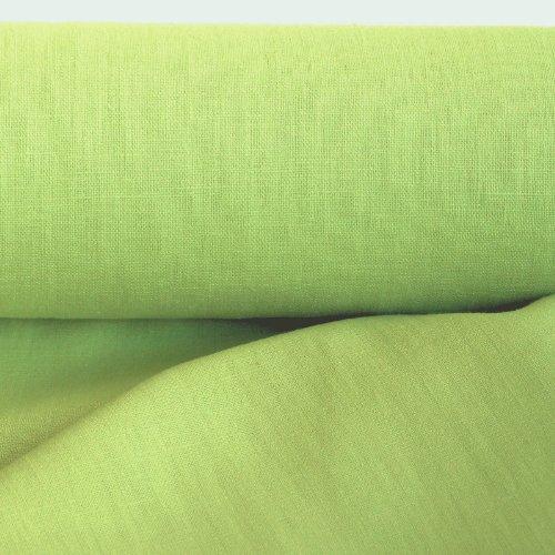 eterware zum Nähen, blickdichter Naturstoff für Bekleidung, Gewänder, Vorhänge und Deko (Hell-Grün) (Grün Mittelalterliches Kleid)