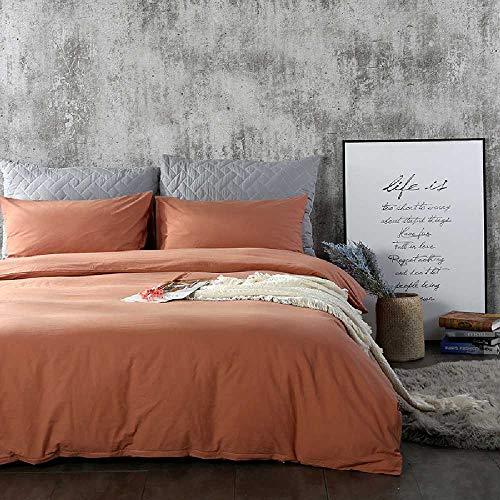 CHINCI GUO Reihe von Vier stücke von Betten umfassende Decke Warm einfarbig super Soft aus Baumwolle reduzierte muji - Wind - Vier Stück Super - aus Baumwolle - Kaffee - Design-bettwäsche-bettdecken Echo