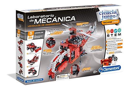 Ciencia y Juego Technologic Laboratorio de mecánica, vehículos de Emergencia (Clementoni 55200.9)