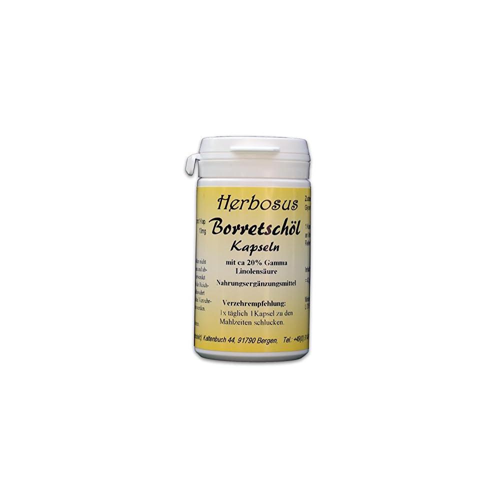 Borretschl Kapseln Mit Ca 20 Gamma Linolensure Von Herbosus