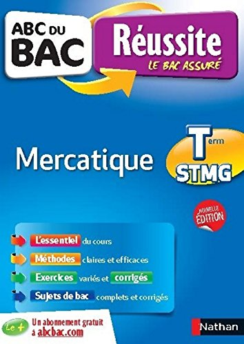 ABC du BAC Russite Mercatique Term STMG