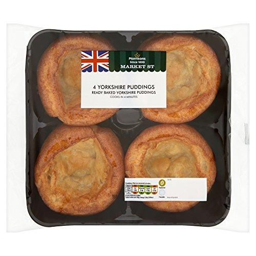 Morrisons Market Yorkshire Puddings, 168 g Test