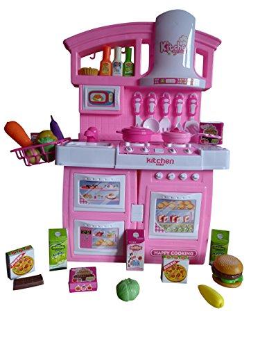 Spielzeug-Küche A150 30tlg. Set, Kinder-Spielzeug Spiel-e mit Sound-Effekten Mädchen Junge-n Weihnacht-en Geburtstags-Geschenk