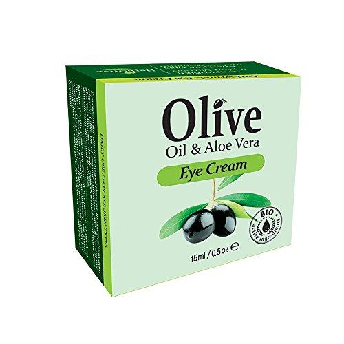 Herbolive Antifalten-Augencreme, 1er Pack (1 x 15 ml)