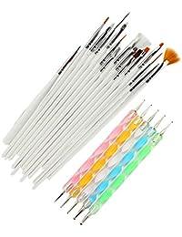 Stylos et pinceaux de nail art Mains et doigts d'entraînement Séchoirs à ongles et lampes UV