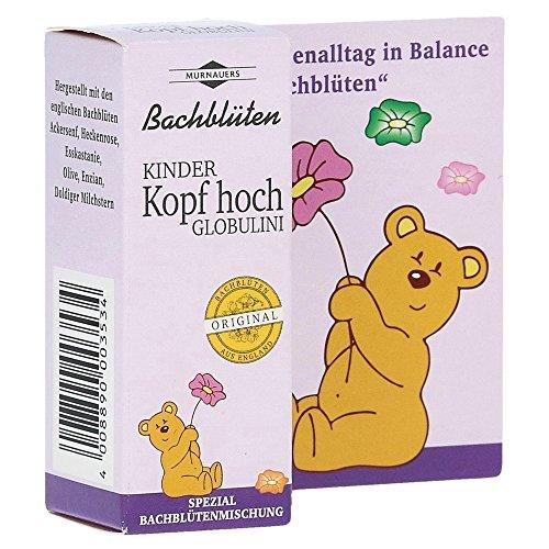 Murnauers Bachblüten Kinder Kopf hoch Globulini, 10 g