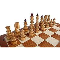 ChessEbook-Edles-Schachspiel-BIZANT-59-x-59-cm-Holz-Handgeschnitzt