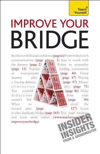 Improve Your Bridge (Teach Yourself: Games/Hobbies/Sports)