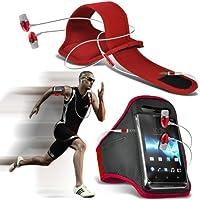 Fone-Case ( Red + Earphone ) Asus Zenfone 2 ZE551ML