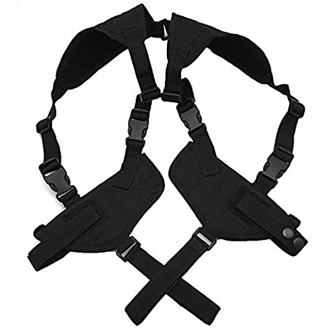 Shoulder Holster Left Right Hand Tactical Nylon Holster Gun Under Arm Shoulder Double Pistol Gun Holster