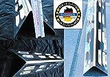 Manufaktur Stollenwerk 387mm/360mm x 88mm x 76mmx 1mm V2A Aromaschiene aus Edelstahl/Flammenabdeckung/Grillblech/Flammenverteiler – Super Ersatzteil (387/360-80-1)