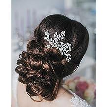 Simsly Combs Slides Crystal capelli sposa accessori per capelli per sposa e  damigelle d  onore dd6354b3e1a7