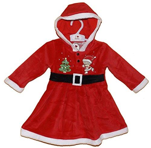 Weihnachten Kleid für ein Baby 'Miss Claus' (12-18 Monate) (Miss Santa Claus Und)
