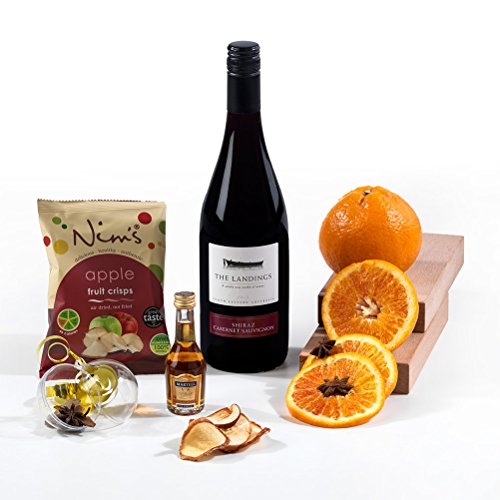 The Complete Mulled Wine Christmas Hamper Box Gift - FREE UK Delivery