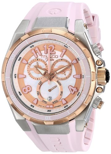 MULCO Unisex MW1-81197-813 Analog Display Swiss Quartz Pink Montre