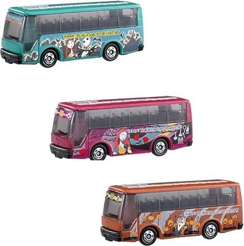 Tim Burton's L'Étrange Noël de monsieur Jack Moving Bus Set of 3