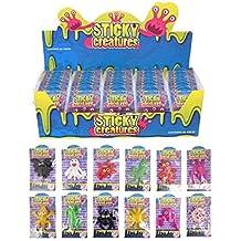 12 X Adhesivo Criaturas Lanzamiento Juguetes - Relleno Piñata - Multicolor
