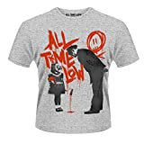 Plastic Head Herren T-Shirt All Time Low Naughty, Grau (Grey), S
