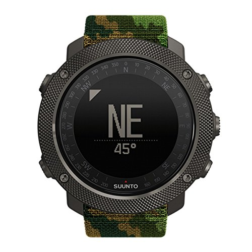Suunto Traverse Alpha Woodland Sports Watch, Camouflage Nature (Grün), Uni